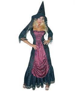 Disfraz bruja medieval mujer