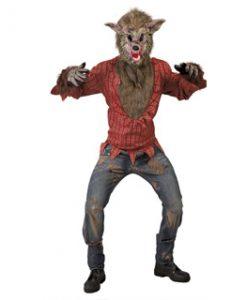 Disfraz de lobo feroz