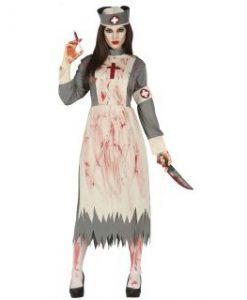 Disfraz enfermera muerta