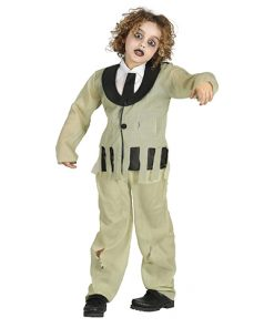 disfraz zombie niño