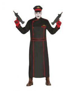 Disfraz de militar gótico