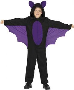 Disfraz de murciélago para niño