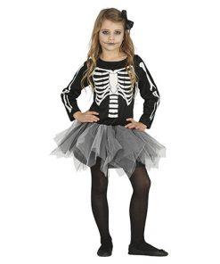 disfraz tutú esqueleto