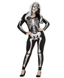 Disfraz body esqueleto