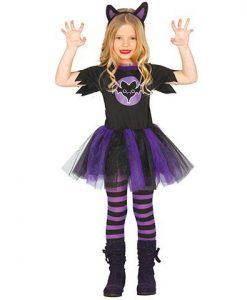 Disfraz Vampira tutú niña