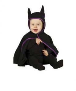 Disfraz murciélago negro bebé
