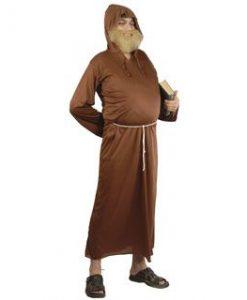Disfraz de fraile Franciscano