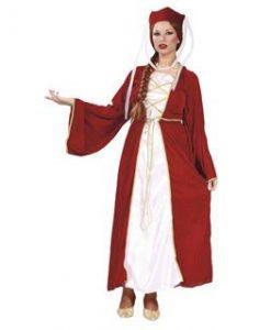 Disfraz de Reina Isabel para mujer
