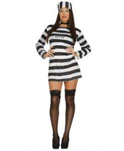 Disfraz de prisionera para mujer