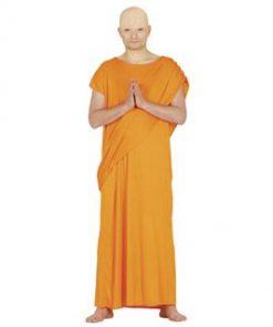 Disfraz de monje budista para hombre