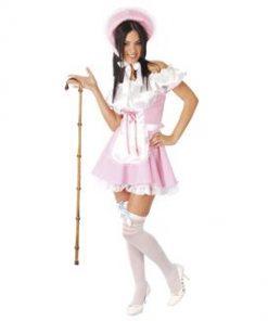Disfraz de muñeca rosa para mujer
