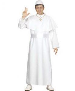 Disfraz de Papa adulto