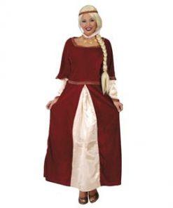 Disfraz de dama feudal