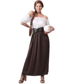 Disfraz de posadera medieval