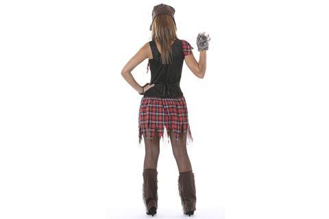 Disfraz de Mujer Loba para adulto No Solo Fiesta