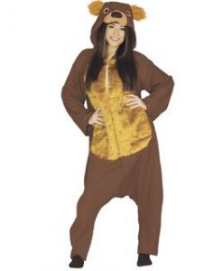 Disfraz de oso pardo