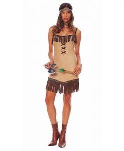Disfraz India Miwok para mujer