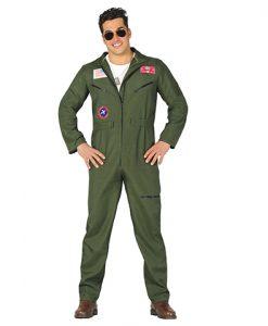 Disfraz Piloto Caza para hombre