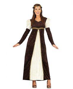 Disfraz de Princesa Medieval Matilde para mujer