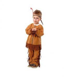 Disfraz de indio para babé