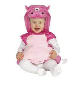 Disfraz de Hipopótamo para bebe
