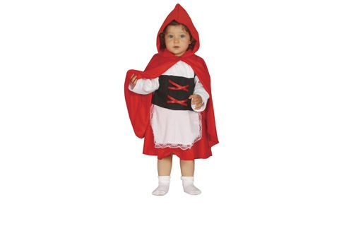 Disfraz de Caperucita Roja para bebé