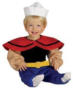 Disfraz de marinero Popeye