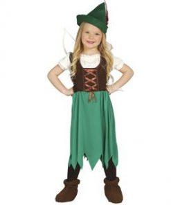 Disfraz de Robin para niña