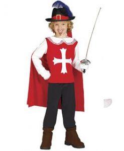 Disfraz de mosquetero de la guardia