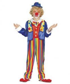 Disfraz de payaso de circo infantil