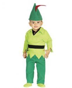 Disfraz de arquero Robin para bebé