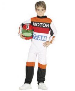 disfraz piloto de motos