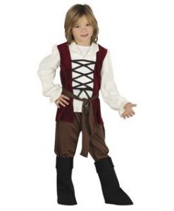 Disfraz de posadero para niño