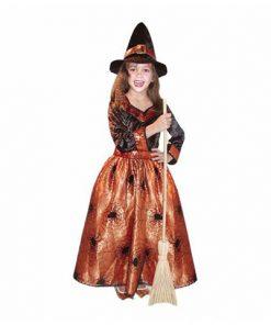 disfraz bruja de gala para niña