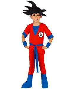 Disfraz de guerrero Goku para niño