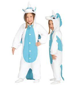 Disfraz de Unicornio azul infantil