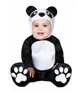 Disfraz oso panda para bebé