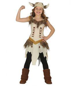 Disfraz de Vikinga para niña