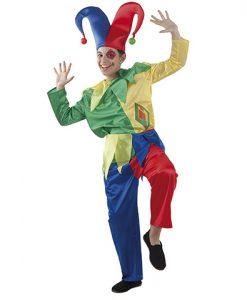 disfraz de bufón infantil
