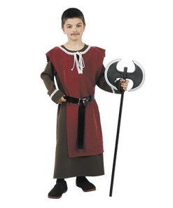 Disfraz de caballero del medievo infantil