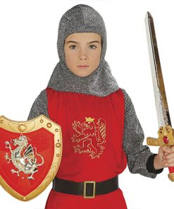 Espada y escudo medieval