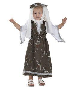disfraz de princesita medieval
