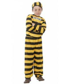 disfraz de preso amarillo infantil