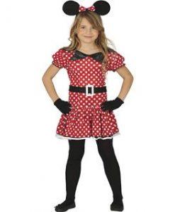 Disfraz de Ratoncita Minnie para niña