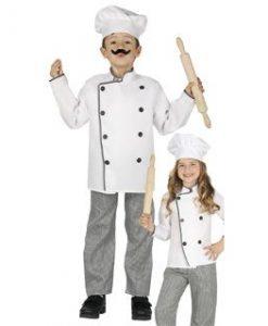 Disfraz de chef infantil