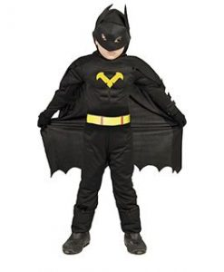 Disfraz hombre murciélago niño