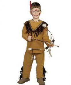 disfraz de indio cherokee infantil