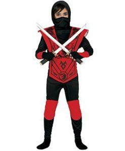 Disfraz Red ninja para niño
