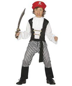 Disfraz de bucanero para niño