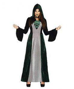 Disfraz de sacerdotisa